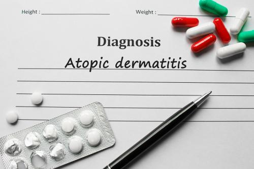 Patients having atopic dermatitis, food allergy have structural differences in skin