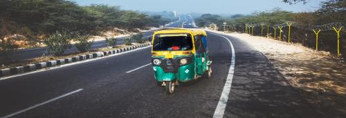 Three-wheel powered solution to dirty air