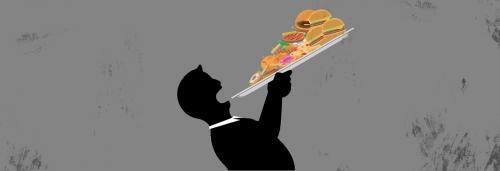 Bending backward for good food