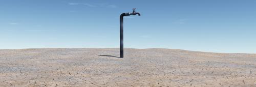 Two-third of the world population lives in water-scarce areas