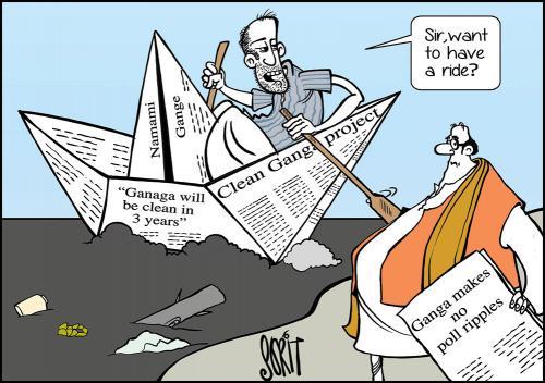 Ganga makes no poll ripples