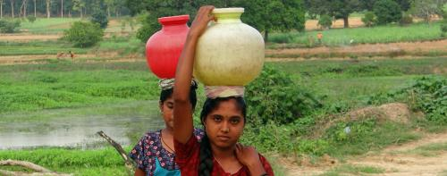 Does rural India have enough water to sustain open-defecation free status?