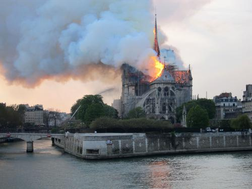 Notre-Dame de Paris: From searing emotion to the future rebirth of a World Heritage Site
