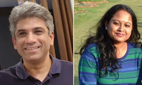 प्रोफेसर एस.वी. सुब्रमण्यन और डॉ. सुतपा अग्रवाल