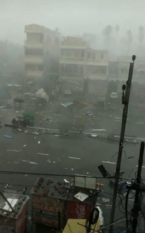 Cyclone Fani in Puri
