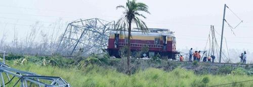 Winds played a major role in Cyclone Fani's sudden intensification