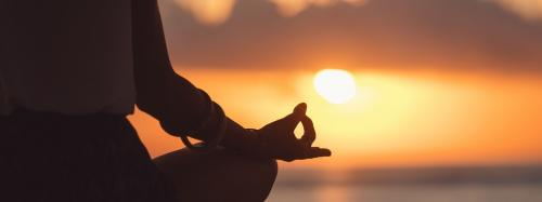 'Yoga just doesn't boost physical fitness, but gives inner peace too'