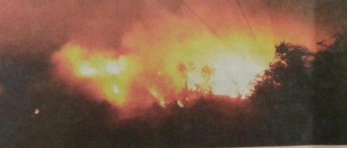 Was Goa's burning Sonsoddo landfill a stunt or something else?