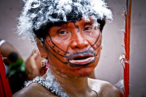 A Yanomami woman. Photo: Wataniba Socio-environmental Work Group for the Amazon.