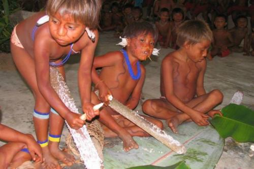 The Yanomami have been decimated by the recent measles epidemic in Venezuela. Photo: Wataniba Socio-environmental Work Group for the Amazon.