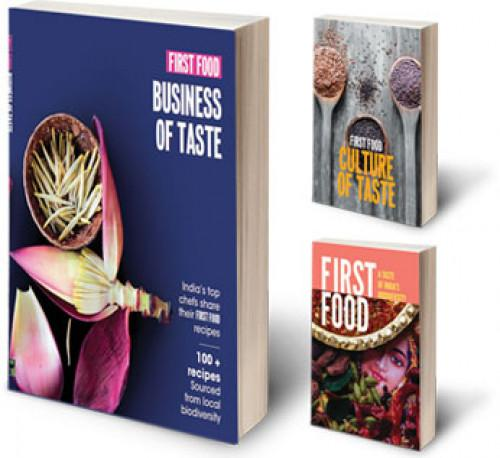 3-Book combo offer on our FIRST FOOD series