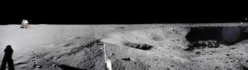 50th anniversary of Apollo 11: Look at these panoramas from the Moon missions