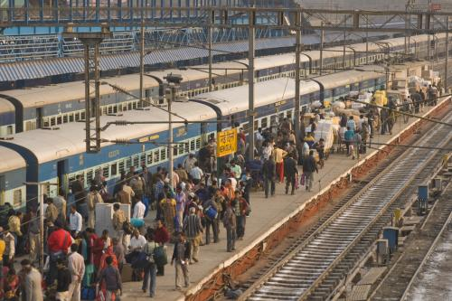 What's the role of external financing in Indian Railways?