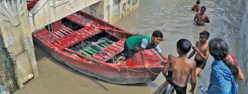 Dams were built to control floods; they are now triggers