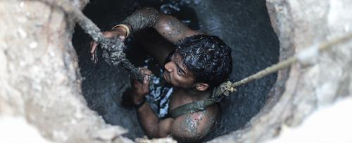 Sewers are gas chambers where manual scavengers are sent to die: SC