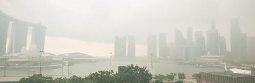 Southeast Asia enveloped in haze