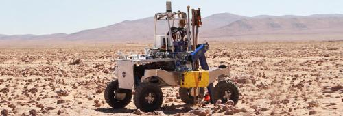 NASA tests autonomous drill to explore signs of life on Mars