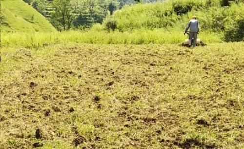 पहाड़ों पर बंजर खेतों की रंगत लौटाने को एकजुट हुए किसान