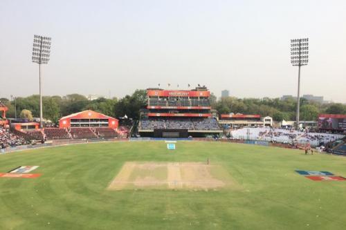 एक बार फिर दिल्ली का प्रदूषण क्रिकेटरों को कर सकता है परेशान
