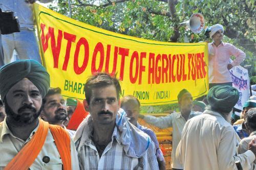 WTO's assault on India