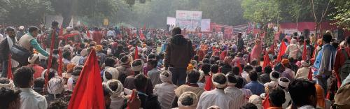 Hundreds of forest dwellers reach Delhi to demand rights