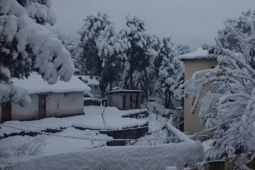 पहाड़ी राज्यों में बर्फबारी से बढ़ी ठंड, कई इलाकों में ओले गिरने की आशंका