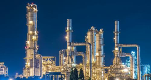 An oil refinery. Photo: Getty Images