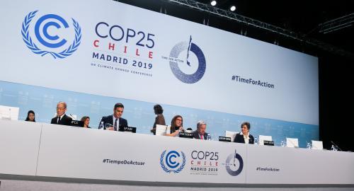 CoP 25th plenary meet. Photo: UNFCCC