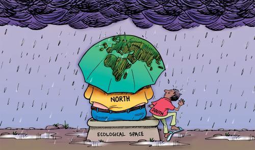 जलवायु आपातकाल, कॉप-25: विकसित देशों ने पहले ही खत्म कर दिया अपने हिस्से का कार्बन बजट