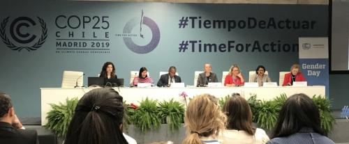 Climate Emergency CoP 25: Gender justice being marginalised in Madrid