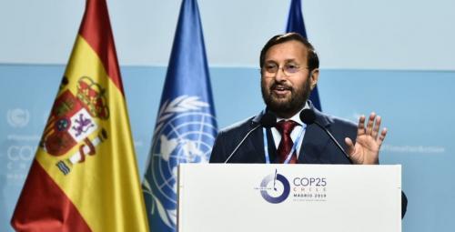 Climate Emergency CoP 25: Javadekar trumpets govt's achievements in Madrid