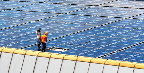 Solar power: In a slump India's booming
