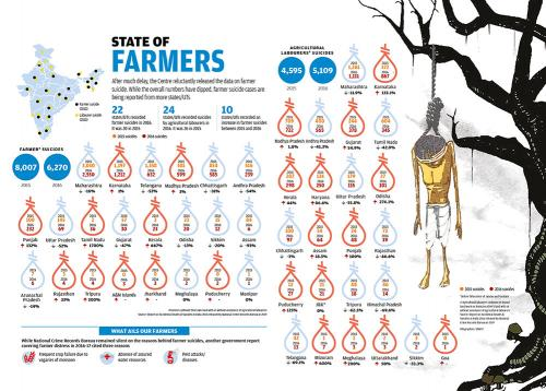 State of India's farmers: Lost crops, lost resources, lost lives