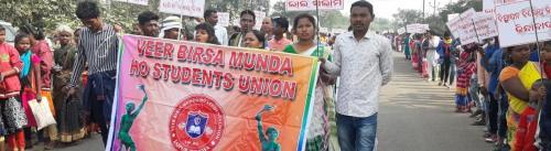 Tribals observe 14th anniversary of Odisha's Kalinganagar firing incident