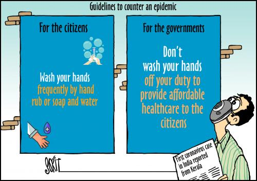Guidelines to counter an epidemic