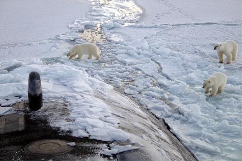 आर्कटिक मेंबदल रहा है बर्फ के पिघलने का समय