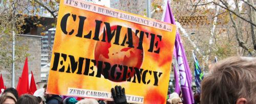 Climate emergency: A question of semantics?