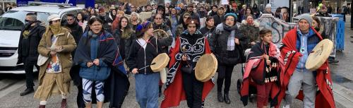 Wet'suewet'en protests have exposed Canada's racist underbelly: Ruth Hopkins