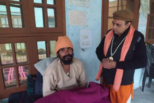 साध्वी पदमावती का एम्स में इलाज जारी, अब आत्मबोधानंद का निराजल अनशन शुरू