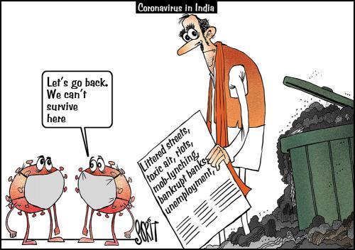 simply put  coronavirus in india