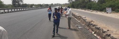 COVID-19: Gujarat labourers, tribals forced to take 250 km-long journeys on foot