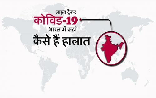 कोरोना लाइव ट्रैकर: भारत में 909 मरीज,19 मौते, नक्शे में जानें किस राज्य में हैं कितने मरीज