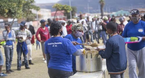 Gaps in South Africa's relief scheme leave some workers with no income