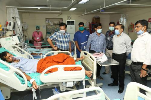 रायगढ़ में जहरीली का गैस का रिसाव, 7 मजदूर बीमार