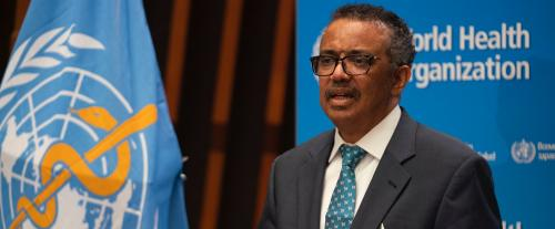 COVID-19: Tedros accepts proposal to 'evaluate' WHO's response