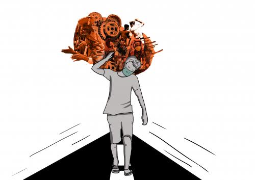 Isn't it time for the State to do business again after the novel coronavirus lockdown. Illustration: Ritika Bohra