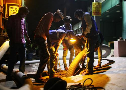 Banning manual scavenging in India: A long, complex passage
