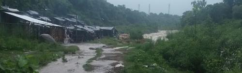 Heavy monsoon may put Dharamshala evicted families at risk