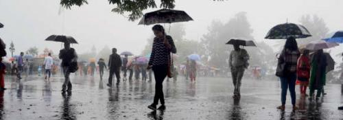 Extreme weather in North East: Floods in some districts, others stay dry