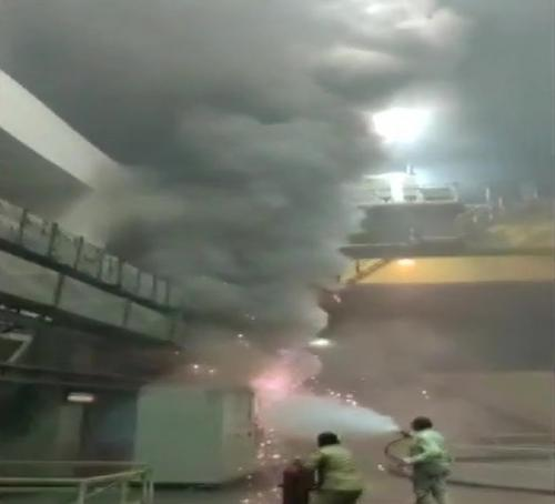 6 dead in Srisailum hydroelectric plant fire